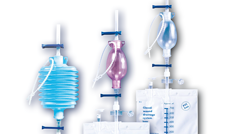 Wellspect Surgical Wound drainage system products