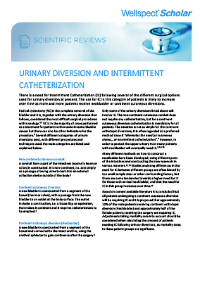 Urinary Diversion and Intermittent Catheterization