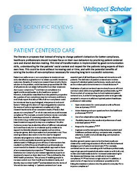 Patient Centered Care